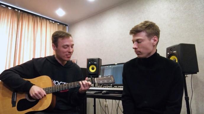 Юность - Dabro (под гитару)